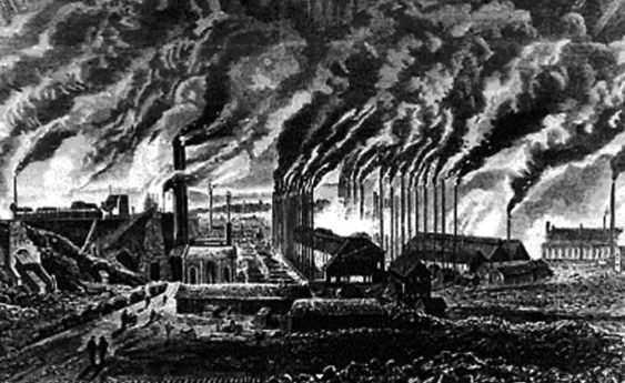 nacimiento prolteariado industrial