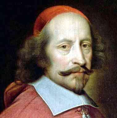 Cardenal Richelieu ministro de luis xiii de francia