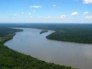 Río Paraná en Argentina