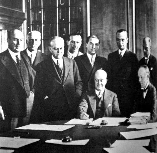 firma del pacto roca - ruciman