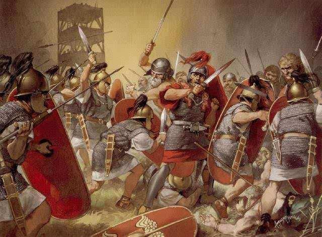 Conquistas de Italia por los Romanos:Dominacion Romana a Pueblos Vecinos