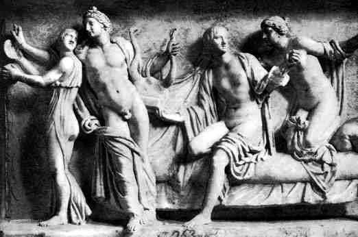 hetairas en roma antigua