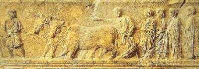 la agricultura en roma antigua
