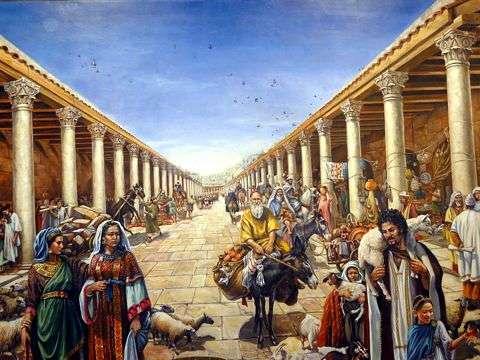 comercio en roma antigua