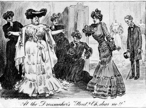 vestidos de la alta sociedad antigua