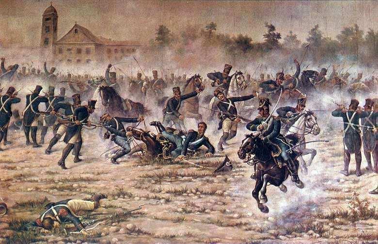 El Combate de San Lorenzo San Martin, el Sargento Cabral y ...