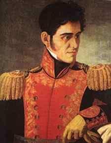 General Antonio López de Santa Ana