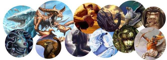 seres de la mitologia