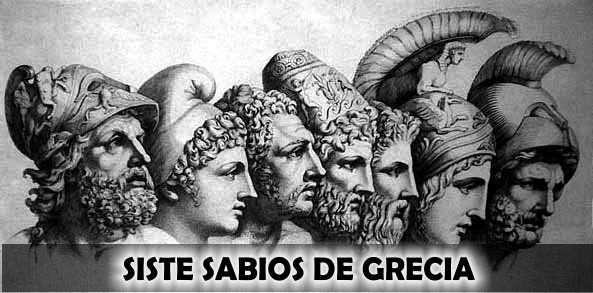 siete sabios de grecia