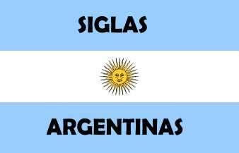 siglas argentinas populares