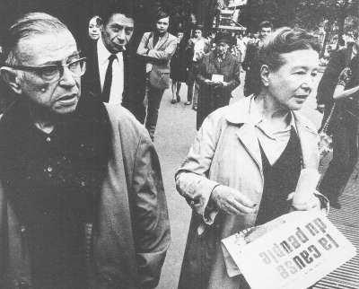 Simone de Beauvoir activista feminista