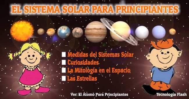 El Sistema Solar Para Ni 241 Os Planetas Medidas Y