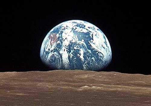 el sistema solar para niños: planeta tierra