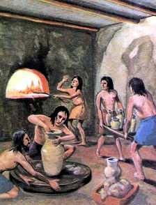 vida del hombre en el neolitico la ceramica