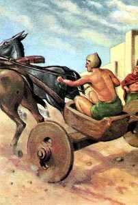 carros antiguos en el neolitico
