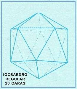 poliedros regulares tetraedro 4 caras