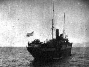 barco hundido struma