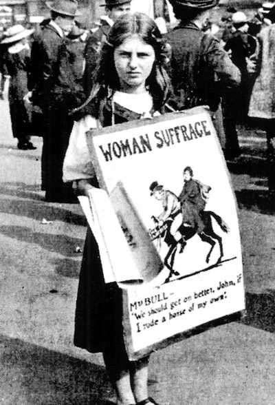 Historia del Sufragio Femenino