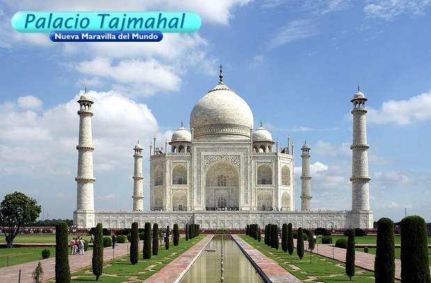 Arquitectura en la India Tajmahal