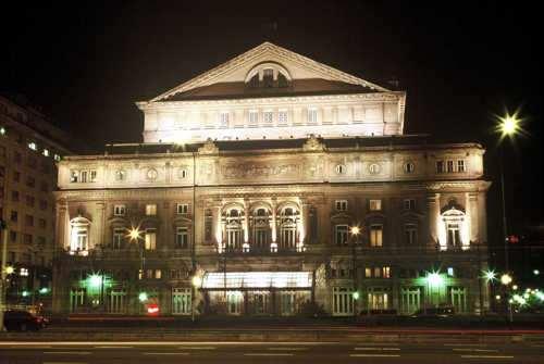 Historia del Teatro Colón Y Vida La Cotidiana de la Oligarquía ...
