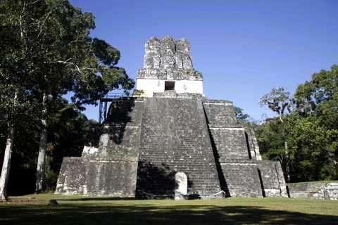 templo de las mascaras tikal