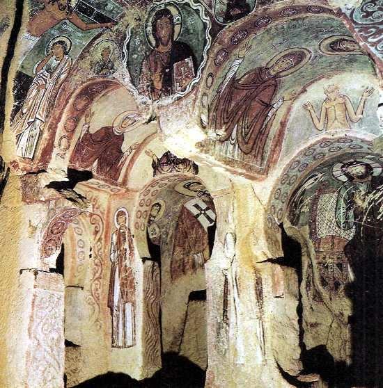 templo bizantino en la roca