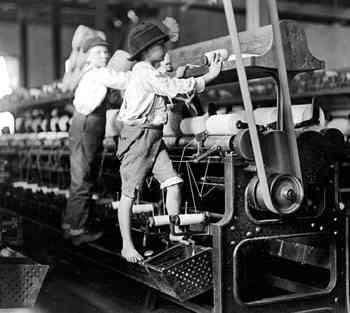 trabajo infantil en inglaterra, revolución industrial