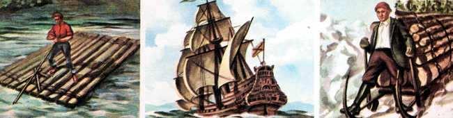 historia del transporte de carga por el agua