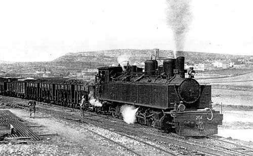 tren siglo xix