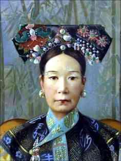 Tseu Hi ultima emperatriz manchu