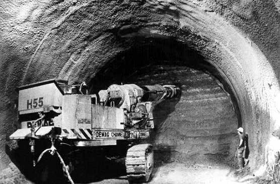 perforacion tunel del canal de la mancha