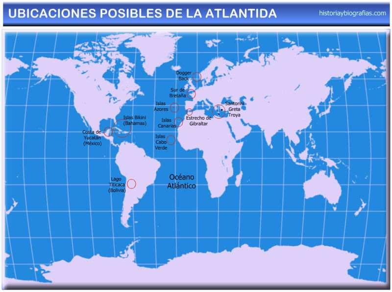 mapa ubicacion de la atlantida