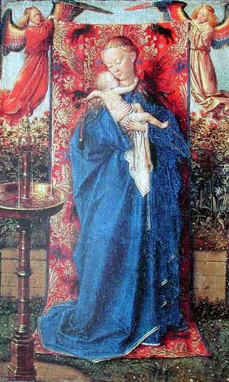 Virgen de la Fuente de Van Eyck