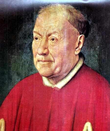 Van Eyck Retrato del Cardenal