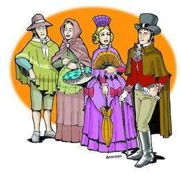 vestimenta colonial