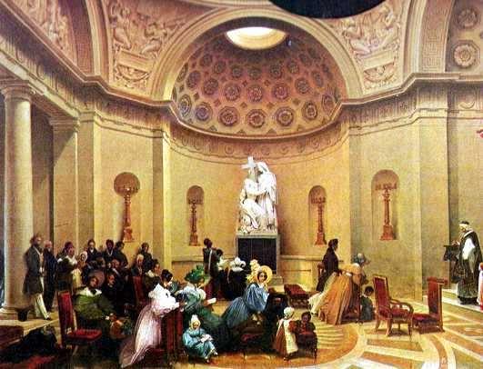 Una misa en Paris