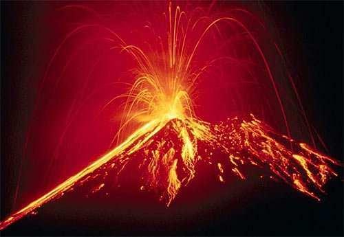 volcan activo