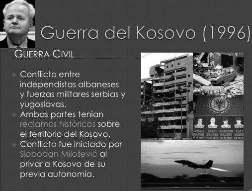 conflicto en yugoslavia