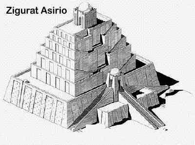 zigurat en asiria