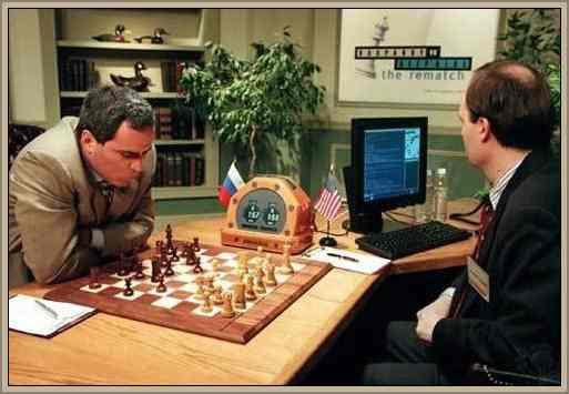 partida de ajedrez kasparov deep blue