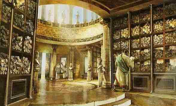 alejandria biblioteca