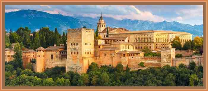 el alhambra en granada arte arabe