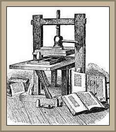 antigua imprenta la biblia