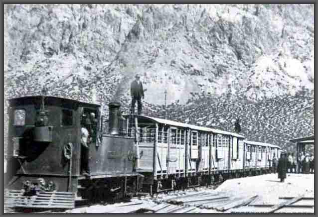 el ferrocarril andino en argentina