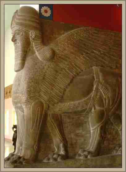 Toro Alado Arquitectura en Asiria y Babilonia