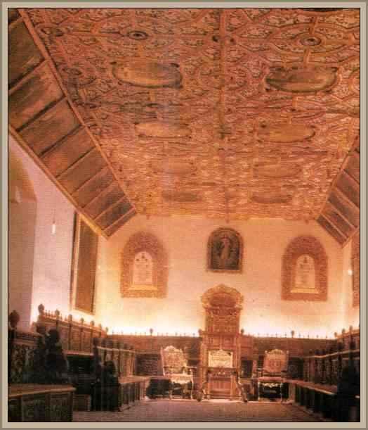 sala del convento de san agustin arte colonial español