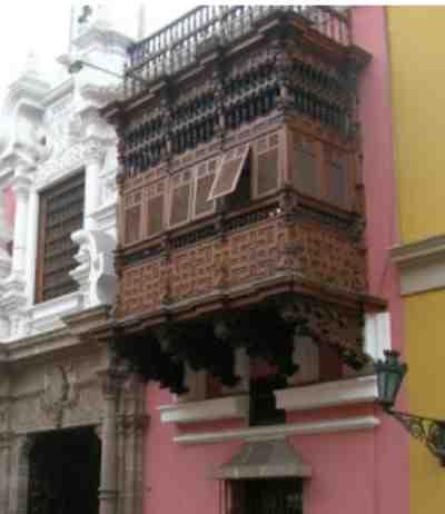 balcones: arte jesuitico