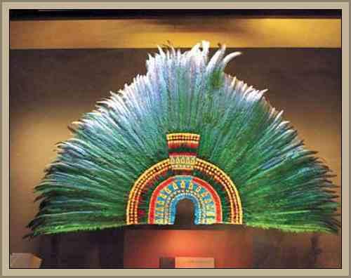arte plumario penacho indigena