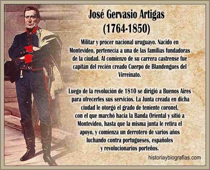 Biografia de José Gervasio Artigas Caudillo Uruguayo – BIOGRAFÍAS ...