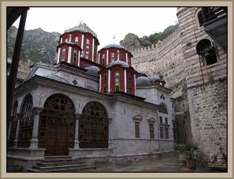 Monasterio de Athos